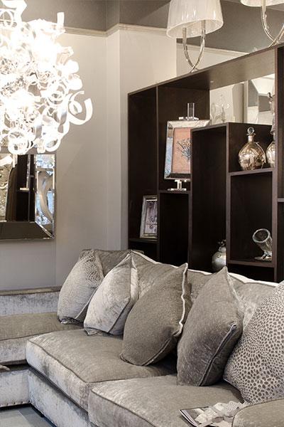 Interior Affair Showroom Sofa